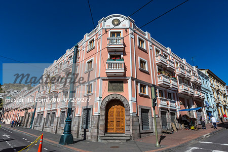 Buildings in Historic Centre of Quito, Ecuador Stock Photo - Rights-Managed, Image code: 700-07279277