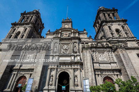 Mexico City Metropolitan Cathedral, Mexico City, Mexico Stock Photo - Rights-Managed, Image code: 700-07310945