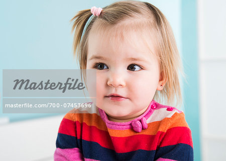 Portrait of Baby Girl in Doctor's Office Stock Photo - Rights-Managed, Image code: 700-07453696