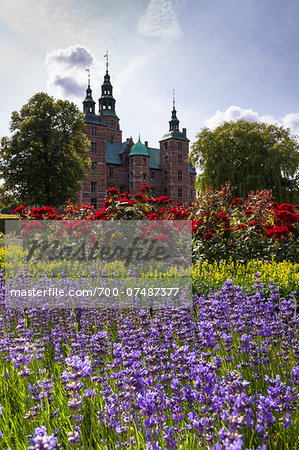 King's Garden at Rosenborg Castle, Copenhagen, Denmark Stock Photo - Rights-Managed, Image code: 700-07487377