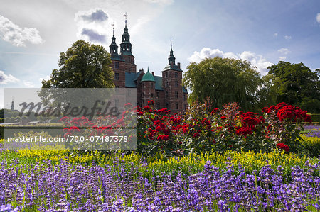 King's Garden at Rosenborg Castle, Copenhagen, Denmark Stock Photo - Rights-Managed, Image code: 700-07487378
