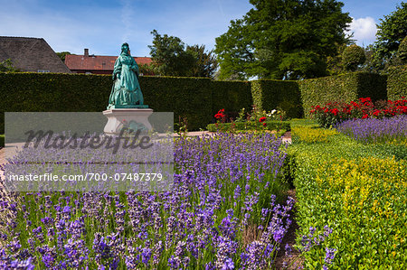 King's Garden at Rosenborg Castle, Copenhagen, Denmark Stock Photo - Rights-Managed, Image code: 700-07487379