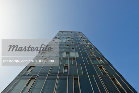 Low angle view of Office Building, Hamburg, Germany
