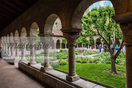 The Cloisters, Washington Heights, Upper Manhattan, New York City, New York, USA Stock Photo - Rights-Managed, Image code: 700-07735946