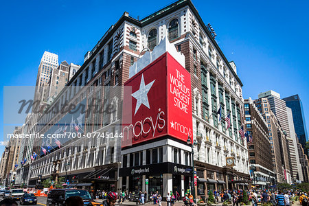 Macy's, New York City, New York, USA Stock Photo - Rights-Managed, Image code: 700-07745144