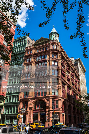 Building on Street Corner, New York City, New York, USA Stock Photo - Rights-Managed, Image code: 700-07745146