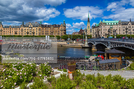 Harbour and waterfront, Ostermalm, Stockholm, Sweden Stock Photo - Rights-Managed, Image code: 700-07783831