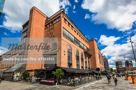 Sidewalk Cafe, Tjuvholmen, Frogner, Oslo, Norway Stock Photo - Rights-Managed, Image code: 700-07783915