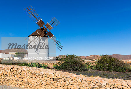 Los Molinos Interpretive Centre for Windmills, Tiscamanita, Fuerteventura, Las Palmas, Canary Islands Stock Photo - Rights-Managed, Image code: 700-07945298