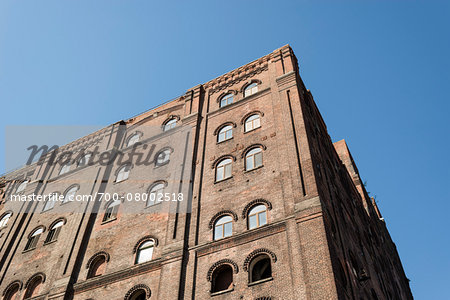 Warehouse building being converted to apartments, Williamsburg, Brooklyn, New York City, New York, USA Stock Photo - Rights-Managed, Image code: 700-08002518