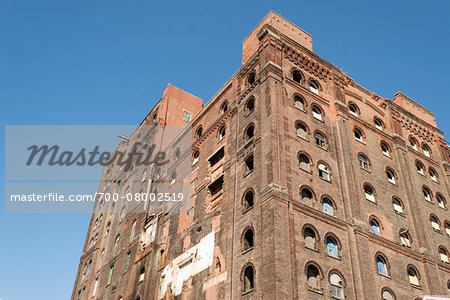 Warehouse building being converted to apartments, Williamsburg, Brooklyn, New York City, New York, USA Stock Photo - Rights-Managed, Image code: 700-08002519