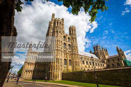 Ely Cathedral, Ely, Cambridgeshire, England, United Kingdom Stock Photo - Rights-Managed, Image code: 700-08145898