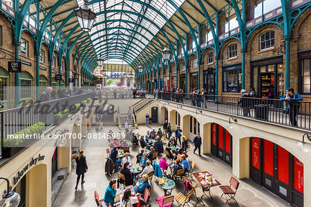 Covent Garden, London, England, United Kingdom Stock Photo - Rights-Managed, Image code: 700-08145989