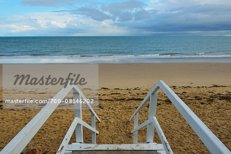 Wooden Staicase to Beach, Hervey Bay, Queensland, Australia Stock Photo - Rights-Managed, Image code: 700-08146202