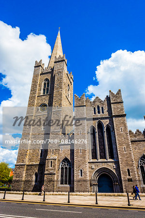 St Patrick's Cathedral, Dublin, Leinster, Ireland Stock Photo - Rights-Managed, Image code: 700-08146276