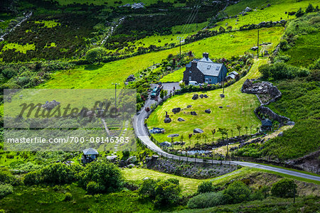 Scenic view of Caherdaniel, along the Ring of Kerry, County Kerry, Ireland Stock Photo - Rights-Managed, Image code: 700-08146383