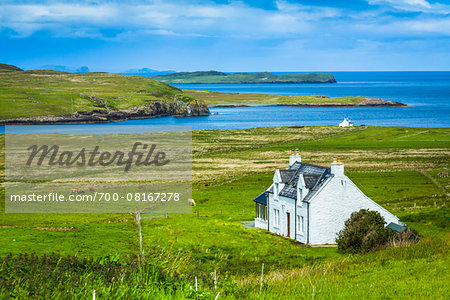 Kilmaluag, Trotternish, Isle of Skye, Scotland, United Kingdom Stock Photo - Rights-Managed, Image code: 700-08167278