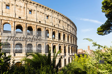 Close-up of the Colosseum, UNESCO World Heritage Site, Rome, Italy Stock Photo - Rights-Managed, Image code: 700-08576127