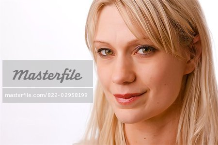 Close up of a woman Stock Photo - Rights-Managed, Image code: 822-02958199