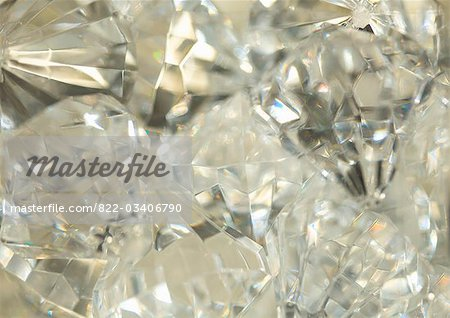 Extreme close up of large diamonds Stock Photo - Rights-Managed, Image code: 822-03406790