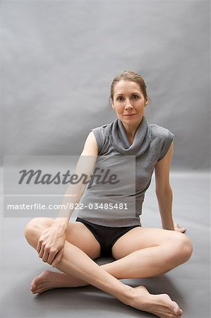 Portrait of a dancer Stock Photo - Rights-Managed, Image code: 822-03485481