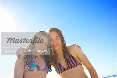 Teenage Girls Hugging Stock Photo - Rights-Managed, Image code: 822-03780798