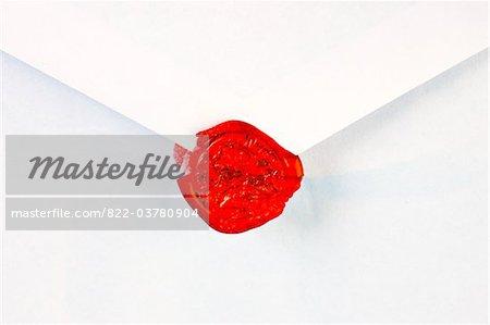 Broken Red Wax Seal