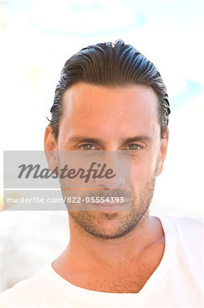 Portrait of Man Stock Photo - Rights-Managed, Image code: 822-05554393