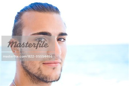 Handsome Young Man Stock Photo - Rights-Managed, Image code: 822-05554406