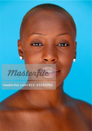 Young Woman with Bare Shoulders Stock Photo - Rights-Managed, Image code: 822-05554755