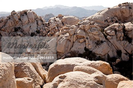 Back View of Man Standing on Rock Stock Photo - Rights-Managed, Image code: 822-05554859