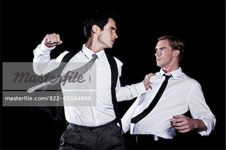 Two Businessmen Fighting Stock Photo - Rights-Managed, Image code: 822-05554866