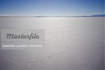 Bonneville Salt Flats Stock Photo - Rights-Managed, Image code: 822-05554913