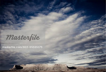 Mountain Landscape and Cloud Formations Stock Photo - Rights-Managed, Image code: 822-05555173