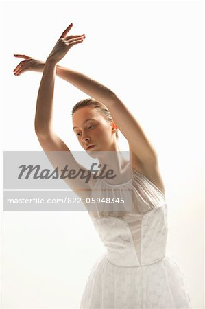 Ballerina Dancing Stock Photo - Rights-Managed, Image code: 822-05948345