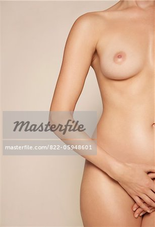 Nude Woman, Headless Stock Photo - Rights-Managed, Image code: 822-05948601