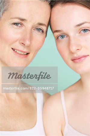 Mother and Daughter Stock Photo - Rights-Managed, Image code: 822-05948717