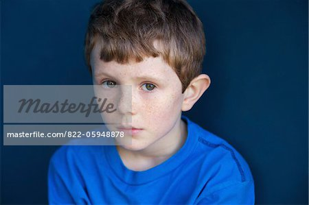 Portrait of Boy Stock Photo - Rights-Managed, Image code: 822-05948878
