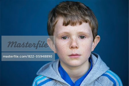 Portrait of Boy Stock Photo - Rights-Managed, Image code: 822-05948890