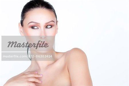 Portrait of Woman Stock Photo - Rights-Managed, Image code: 822-06302414