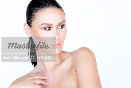 Portrait of Woman Stock Photo - Rights-Managed, Image code: 822-06302431