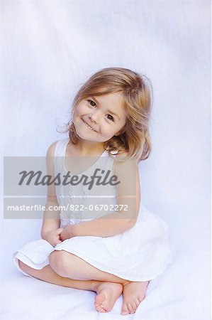 Portrait of Young Girl Stock Photo - Rights-Managed, Image code: 822-06702272