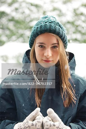 Portrait of Teenage Girl Stock Photo - Rights-Managed, Image code: 822-06702357