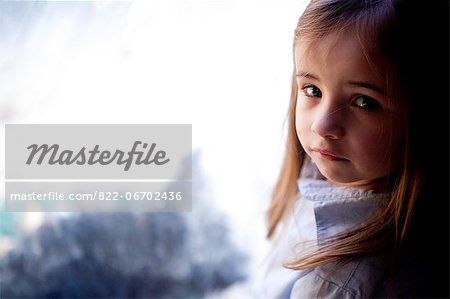 Portrait of Young Girl Stock Photo - Rights-Managed, Image code: 822-06702436