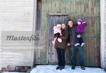 Portrait of Family Stock Photo - Rights-Managed, Image code: 822-06702452