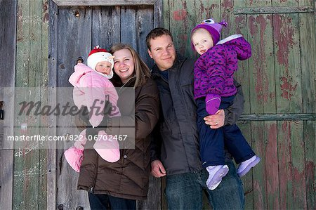 Portrait of Family Stock Photo - Rights-Managed, Image code: 822-06702467