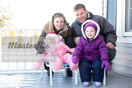 Portrait of Family Stock Photo - Rights-Managed, Image code: 822-06702469