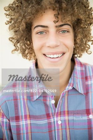 Portrait of Young Man Stock Photo - Rights-Managed, Image code: 822-06702569