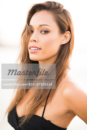 Portrait of Attractive Woman Stock Photo - Rights-Managed, Image code: 822-07355514