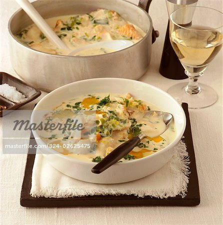 Cullen Skink Stock Photo - Rights-Managed, Image code: 824-02625475